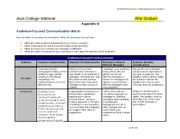 audience focused communication matrix essay For more classes visit wwwxcom285guidecom week 2 checkpoint: audience-focused communication matrix due friday, february 11 in the assignment.