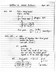 PHYS 251 Fall 2011 Practice Midterm Exam Solutions