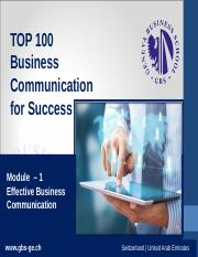 1434455859_TOP_100_BC_Mod_1_-_Ch_1_effective_business_communication-28_slides