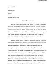 honor v vanity john radcliffe ap english essay honesty v 2 pages essay 1 pg 30