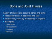 15-9 Bone & Joint Injuries