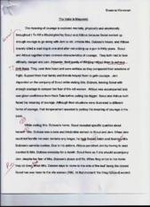 Take Home Final- Essay 1