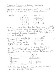 Homework D Solutions on Algebraic Structures and Functions