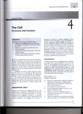 The Cell lab workbook exercises