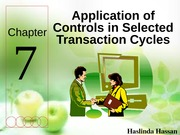 Chapter 7 - Application of Controls
