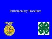 4-Parl. Procedure