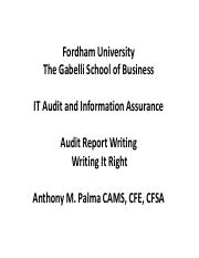 FORDHAM IT AUDIT REPORT WRITING FEB 22 2018 COURSE.pdf