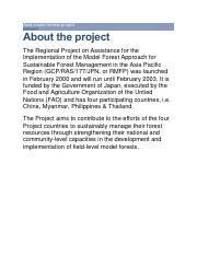 Asia model forests project.pdf