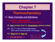 Ch. 07 Review Powerpoint CHEM 180