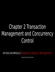 Chap 2 - Transaction Mgmt and Concurrency Control-1.5.2017.ppt