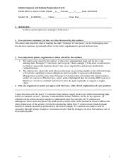 31245 Article Analysis and Debate Preparation Form 3.docx