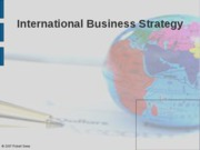 Chap 13 international strategy