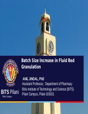 LECTURE_5_Batch Size Increase in Fluid Bed Granulation.ppt