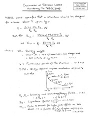 CIVI_453_-_Chapter_3_-_Calculation_of_Seismic_Loads_on_Buildings