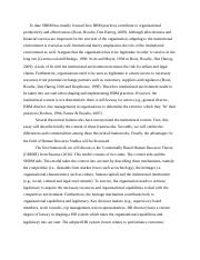 Essay Theme 2 - HRM and the Institutional context.docx