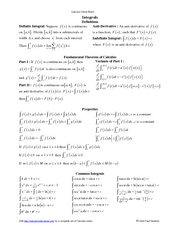Calculus_Cheat_Sheet_Integrals