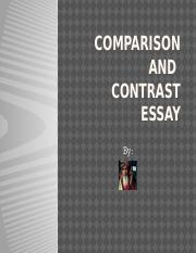 Comparison and Contrast Essay.pptx