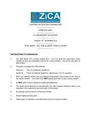 L2 (Management Accounting) Question and Answer Dec 2014.pdf