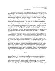 Narrative essay on breast cancer