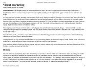 Visual marketing - Wikipedia, the free encyclopedia