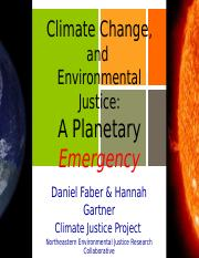 Climate Justice PP2