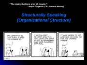 Chapter 11 - Organizational Structure