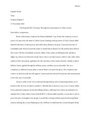 caesar characterization activity what were caesar s bad  5 pages julius caesar essay