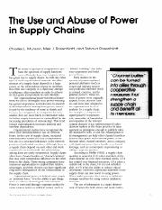 The use and abuse of power in supply chains.pdf