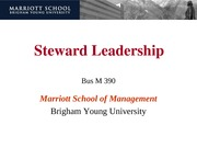 390-22-Steward Leadership-ppt