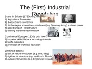 102- 8 -The (First) Industrial Revolution