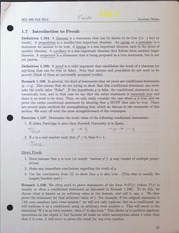 MA306 Introduction to Proofs Lecture Notes
