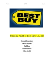 BEST BUY AUDIT .docx