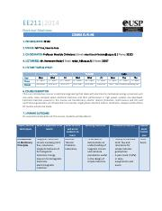 EE211 CourseOutline 2014