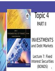 LECTURE 7 SLIDES 2013 TOPIC 4(BONDS)  TOPIC 5(PROPERTY).ppt
