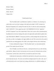 English   English  Dallas Baptist University  Course Hero  Pages S Engl Visual Argument Essay