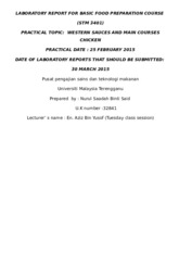 4) LABORATORY REPORT FOR BASIC FOOD PREPARATION COURSE