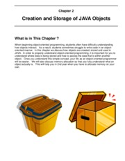 COMP1406_Ch2_CreationAndStorageOfJavaObjects