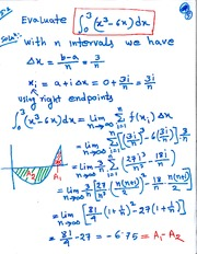 MAT 3143 Midpoint Integral Notes