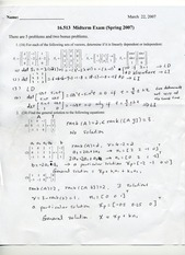 previous midterm solutions