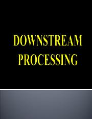 DOWNSTREAM PROCESSING 11295 00