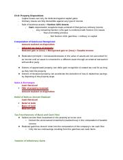 Ch. 8 - Property Dispositions.docx