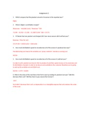 Model answer assignment 2-2