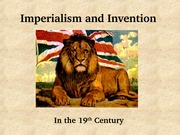 21 Imperialism and Invention lecture