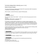 Breach of Contract Template.doc