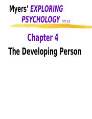 ch04 the developing person.ppt
