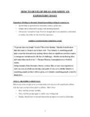 Types of narrative essay