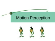Perceiving Motion_New Slide Show from Class Oct 13-1