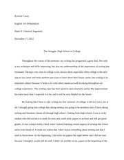 argumentative essay bullying argumentative essay bullying 3 pages the struggle high school to college