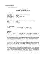 Contoh Surat Dakwaan Tunggal Kejaksaan Negeri Jakarta