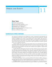 111 Ch11 Stress and Safety